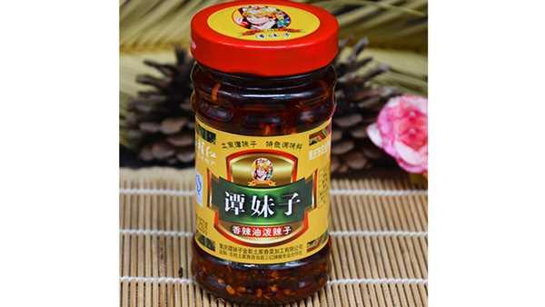 石柱谭妹子香辣油泼辣子250g
