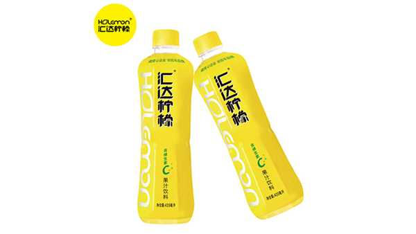 潼南汇达柠檬果汁420ml*15瓶