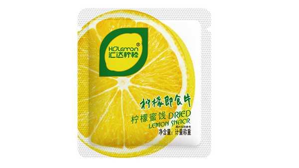潼南汇达柠檬即食片500g
